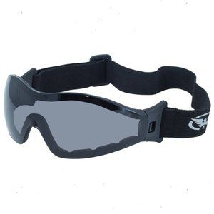 Z87 Motorcycle Skydive Cycling Goggles Padded Dark